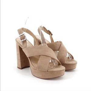 Charles David Jagger Chunky Platform Sandals